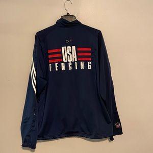 Adidas 2004 Olympics USA Fencing Jacket